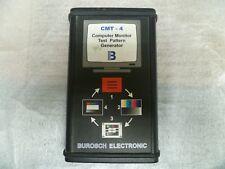 Burosch CMT-4 Testbild - Farbbildgenerator für Computermonitore und Projektore
