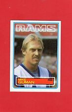 1983 topps football # 91 Mike Guman Los Angeles Rams nmt/mnt