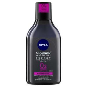 Nivea MicellAIR Expert Make Up Remover Water 400ml Aloe Vera and Pro-Vitamin B5