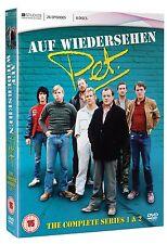 Auf Wiedersehen Pet Complete Series 1 & 2 DVD Tim Region 2 Original