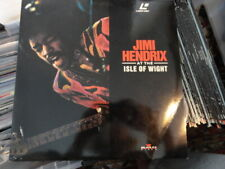 'Jimi Hendrix - 'At The Isle Of Wight' German edition Laser Disc -PAL/SECAM