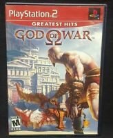 God of War  PS2 Playstation 2 COMPLETE Game 1 Owner Near Mint Disc