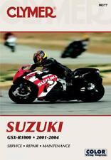 Suzuki GSX-R1000 Motorcycle (2001-2004) Service Repair Manual