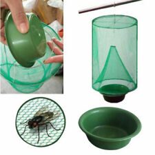 Fly Trap Reusable Hanging Fly Catcher Domestic Ranch Insect Bug Control Cage