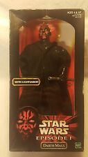 "Star Wars Darth Maul 12"" Episode I Action Figure with Lightsaber 1998 New"
