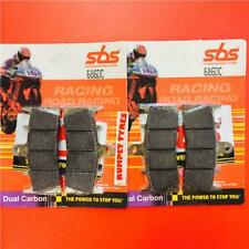 SUZUKI GSXR 1300 HAYABUSA 99 > 07 Front Brake Pads Set SBS Dual Carbon 686DC