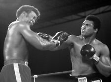 Muhammad Ali and George Foreman UNSIGNED photograph - L8784 - Kinshasa, 1974