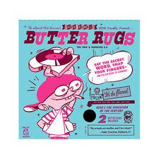 "Thud Rumble 7"" Butter Rug Slipmats - Black New! Rugs"