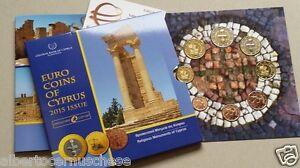 2015 CIPRO 8 monete 3,88 EURO chypre cyprus zypern Кипр Κύπρος 塞浦路斯
