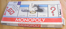 BOARD GAME VINTAGE 1974 MONOPOLY GAME FAMILY BOOT HORSE HAT MONEY GOOD CONDITION