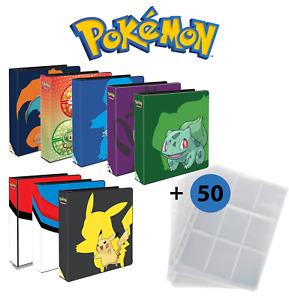 Pokemen SAMMELALBUM   ORDNER   Seiten für 450 Karten INKLUSIVE    Design Wählbar
