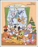 Sierra Leone 1995 Disney/Mickey/Goofy/Christmas/Cartoons/Animation 1v m/s b4165d