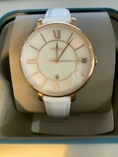 NWT FOSSIL WHITE AND GOLD WOMEN'S WATCH