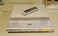 Sony Icf-Cdk70 Under Cabinet Kitchen Clock Am Fm Radio 3 Disc Cd Changer Aux In