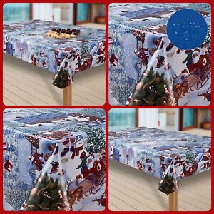 Wachstuch-Tischdecke Schneeflocke Weihnachten Weihnachts-Motive PVC Wachstischde