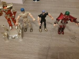"figurine chevalier du zodiaque lot ""poseidon"" bandai 1988 incomplet"