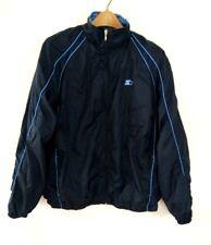 Vintage Starter Men's Jacket Windbreaker Vended Dark Blue Nylon Size Large L