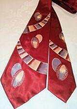 1940s 1950s Nos Manhattan Bold Shapes Post-War Atomic Swing Tie Cravat