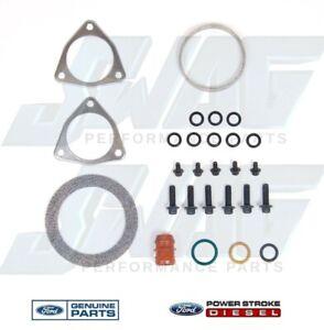 OEM Ford F250 F350 F450 F550 6.4L Powerstroke Diesel Turbo Hardware/Mounting Kit