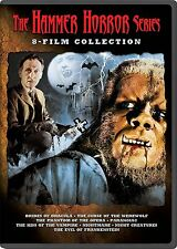 THE HAMMER HORROR SERIES : 8 FILM COLLECTION  - DVD - REGION 1 - Sealed