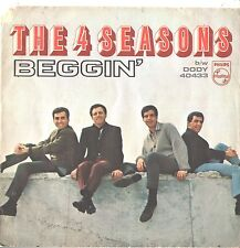 4 SEASONS--PICTURE SLEEVE ONLY--(BEGGIN')---PS---PIC---SLV