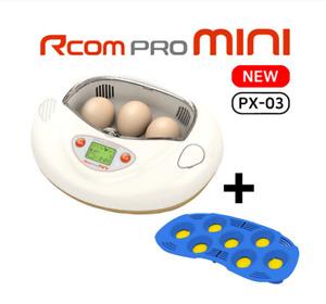 Mini R-com Fully Automated Digital Incubators + 7egg tray Egg Brooder Hatchery