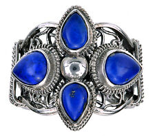 Sterling Silver Lapis Gemstone Ring Size 6