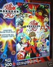 BAKUGAN POSTER SIZE PUZZLE 300 PCS MINT IN BOX