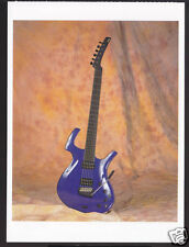 1996 PARKER FLY DELUXE Classic Guitar PICTURE POSTCARD