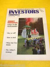 INVESTORS CHRONICLE - ABBEY NATIONAL FLOAT - JUNE 23 1989