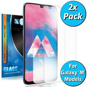 For Samsung M10 M10s M20 M21 M30s M31 M31s M01s Tempered Glass Screen Protector