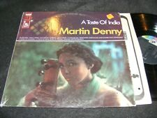 Hard To Find RAGA/ Exotica LP A TASTE OF INDIA Martin Denny LIBERTY 1960s Stereo
