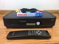 Panasonic PV-4263-K HiFi VHS VCR Video Cassette Recorder + Remote Japan BUNDLE