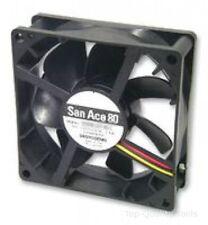 SANYO DENKI Ventilador, San Ace 80, 80x80x15mm, 12V, energía, 9GA0812P7G001