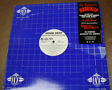 "THE INFAMOUS MOBB DEEP ""THROW YOUR HANDS IN THE AIR"" JIVE 2004 VINYL promo NM/NM"