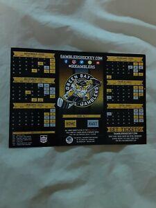 2020-21 Green Bay Gamblers (United States Hockey League) hockey magnet schedule