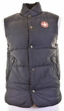 MURPHY & NYE Mens Padded Gilet Size 36 Small Black Polyester Regular  IY10