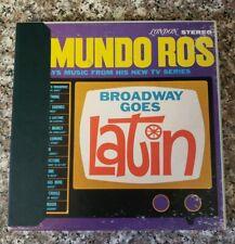 Edmundo Ros Broadway Goes Latin Reel to Reel Tape