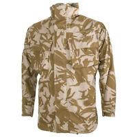 Genuine British Army Desert DPM MVP Combat Jacket, Waterproof Rain Jacket.