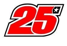 Pegatina Adhesivo Sticker 25 Maverick Viñales Yamaha 12 CMS Aufkleber Autocollan
