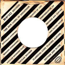 Company Sleeve 45 Epic - White W/ Black Diagonal Stripes And Writing