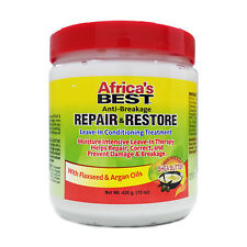 AFRICA'S BEST ANTI-BREAKAGE REPAIR&RESTORE LEAVE-IN CONDITIONING TREATMENT 15OZ