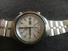 "Seiko ""HELMET"" 6139-7100 Vintage Automatic Chronograph"