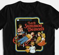 Let's summon demons T-Shirt Dämonen beschwören Kinderbuch 80's 90's retro S-3XL