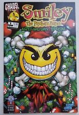 Smiley the Psychotic Button Anti Holiday Special #1 Chaos! Comics VF Flat Ship