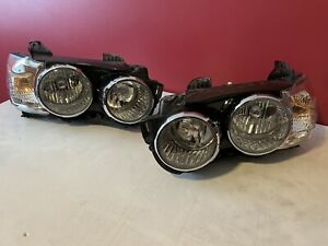 PAIR(2) 2012 2013 2014 2015 2016 Chevy Sonic Headlights Headlamps [Chrome Bezel]
