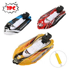 Inflatable Pool Mini Yacht Boat Children's Bath Toys Motorboats Inflators Toddl