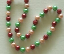 """10MM Multicolor #2 AAA South Sea Shell Pearl Necklace 18"""" NEW (with gift bag)"""