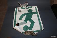 USSR 1982  Vintage poster   placad  anti smoking football