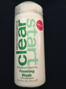 Dermalogica Clear Start Breakout Clearing Foaming Wash 6oz NIB Exp8/19